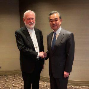 圣座与中华人民共和国举行双边会晤